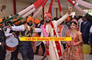 No. 1 Army Band for Wedding in Delhi,Chandigarh, Panchkula, Mohali, Jammu, Ambala, Yamunanagar, Shimla, Kasauli, Zirakpur, Delhi