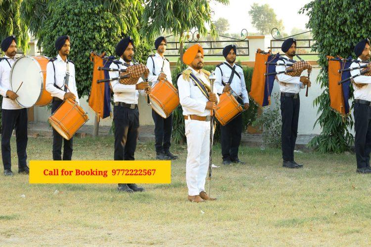 Military Army Fauji Bagpiper Band in a Wedding?