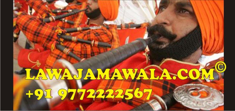 Bagpipe Band in Jhansi Muzaffarnagar Mathura