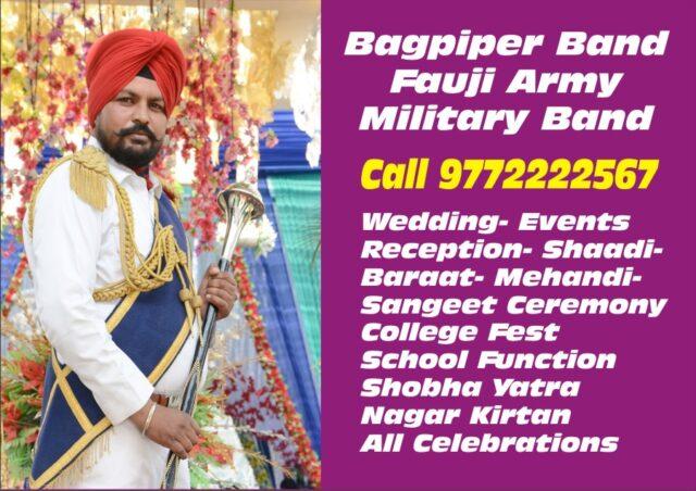Bagpiper Band in Agra Varanasi Allahabad,